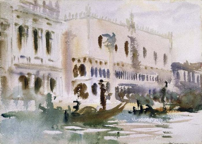 John Singer Sargent From the Gondola