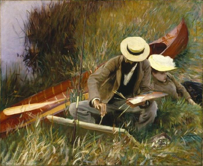 John Singer Sargent An Out of Doors Study