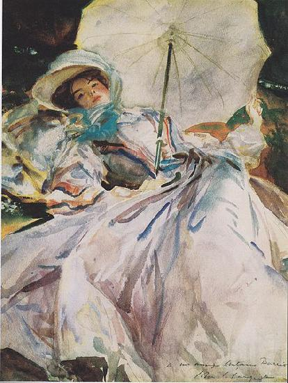 John Singer Sargent Lady with a Parasol