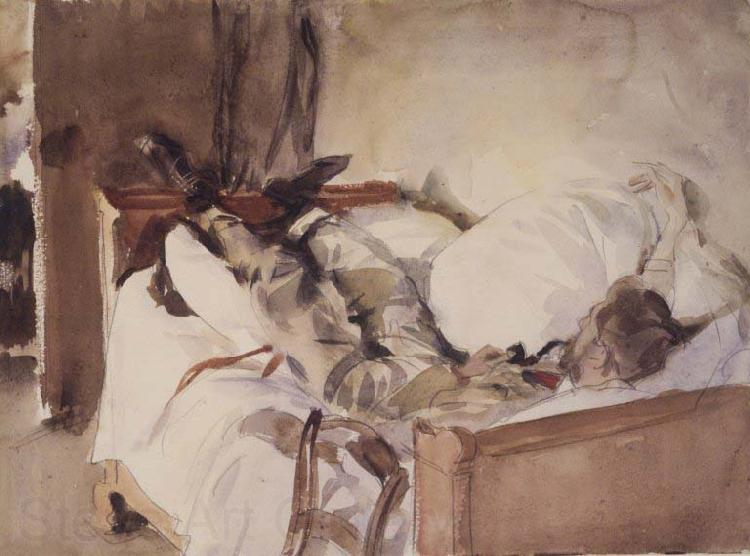 John Singer Sargent In Switzerland