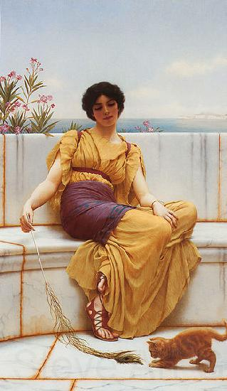 John William Godward Idleness