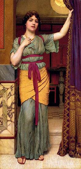John William Godward Pompeian Lady