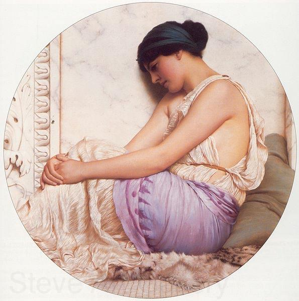 John William Godward A Grecian Girl