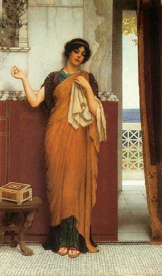 John William Godward Idle Thoughts