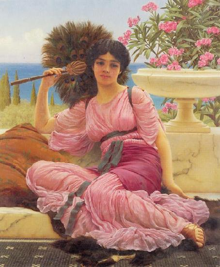 John William Godward Flabellifera