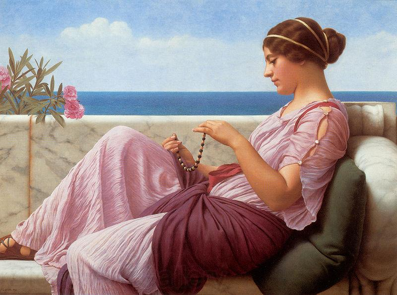 John William Godward A Souvenir