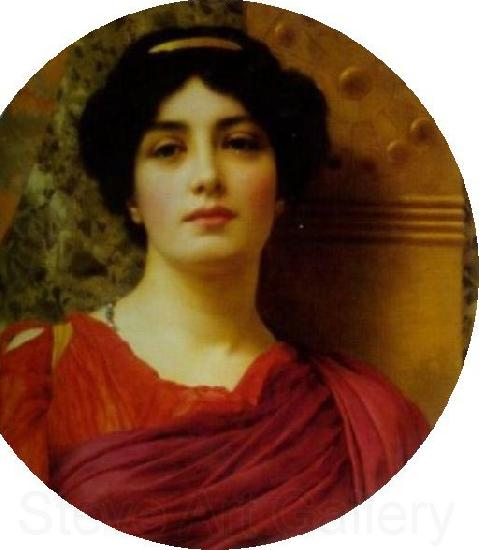 John William Godward Contemplation