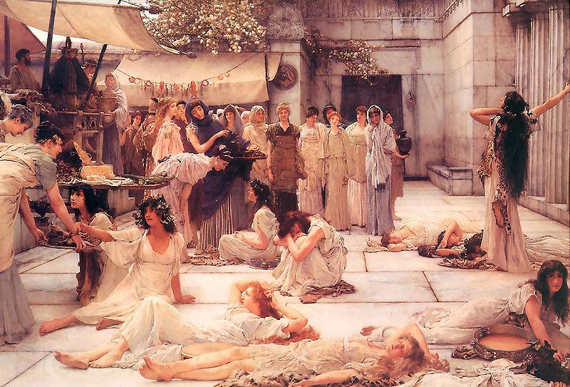 Laura Theresa Alma-Tadema Women of Amfiss