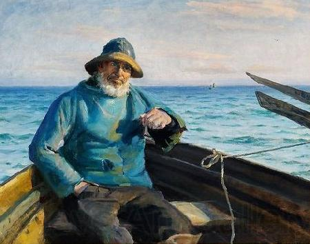 Michael Ancher Fisherman from Skagen