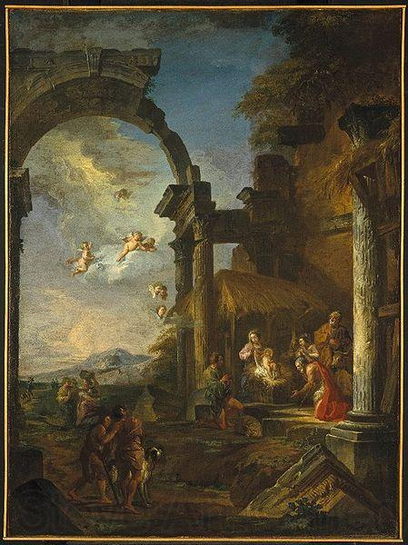 Panini, Giovanni Paolo Adoration of the Shepherds
