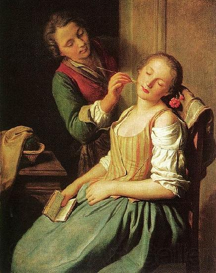 Pietro Antonio Rotari Sleeping Girl
