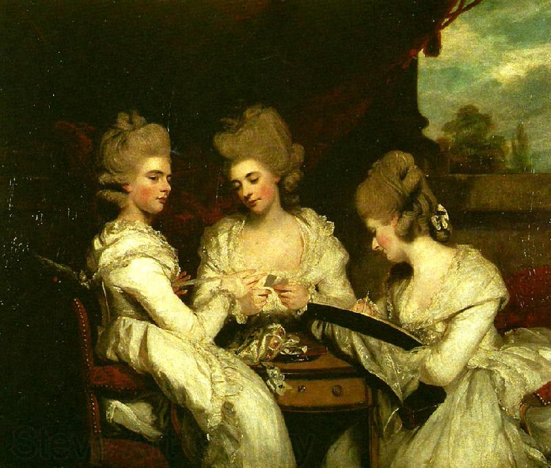 the ladies waldegrave Sir Joshua Reynolds Open picture USA
