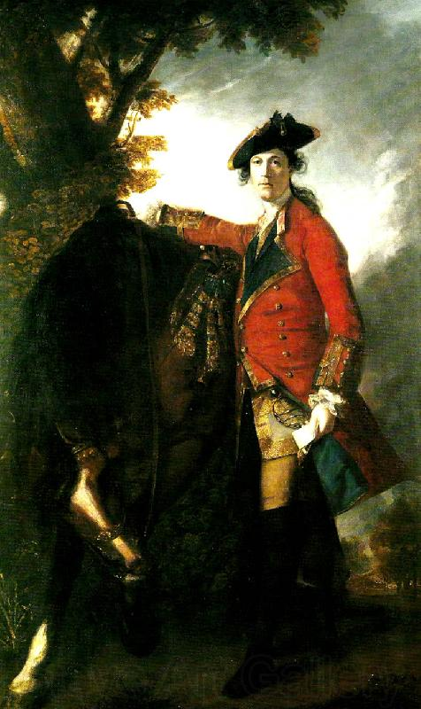 Sir Joshua Reynolds captain robert orme