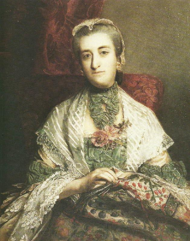Sir Joshua Reynolds lady caroline fox