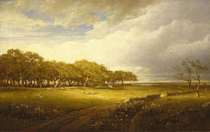 William Trost Richards Old Orchard at Newport
