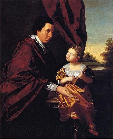 unknow artist Thomas Middleton of Crowfield and His Daughter Mary