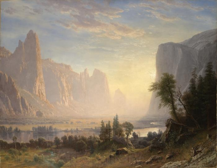 Albert Bierstadt Valley of the Yosemite