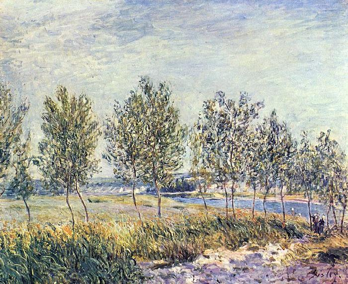 Alfred Sisley Wiese in By