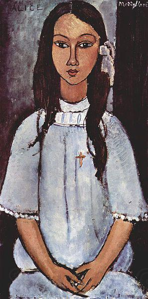 Amedeo Modigliani Alice