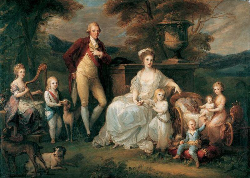 Angelica Kauffmann Portrait of Ferdinand IV of Naples, and his Family