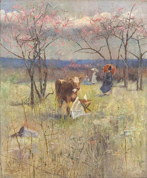 Charles conder An Early Taste for Literature,