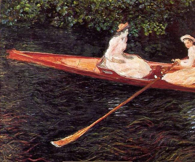 Claude Monet Boat on the Epte