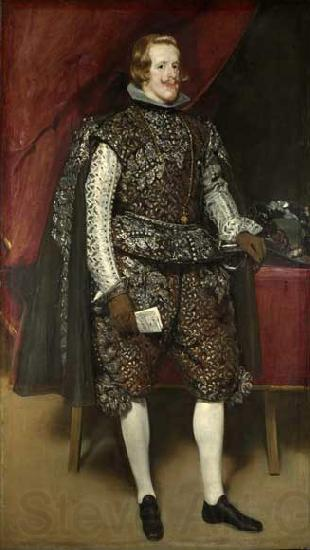Diego Velazquez Diego Velasquez, Philip IV in Brown and Silver