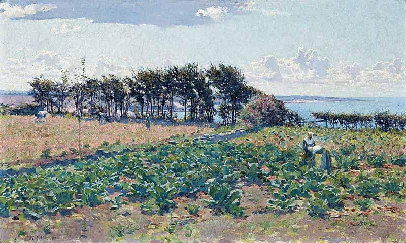 E.Phillips Fox The Cabbage Patch