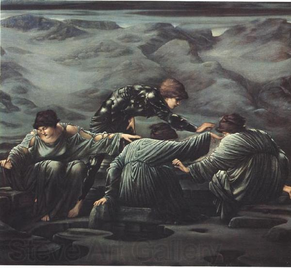 Edward Burne-Jones Perseus and the Graiae Edward Burne-Jones,