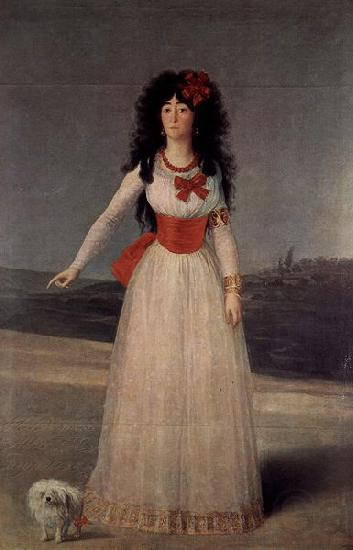 Francisco de Goya Duchess of Alba - The White Duchess
