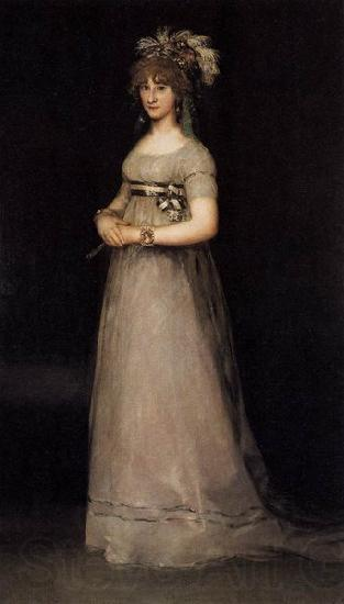 Francisco de Goya Portrait of the Countess of Chinchon