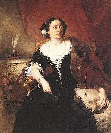 Friedrich von Amerling Countess Nako