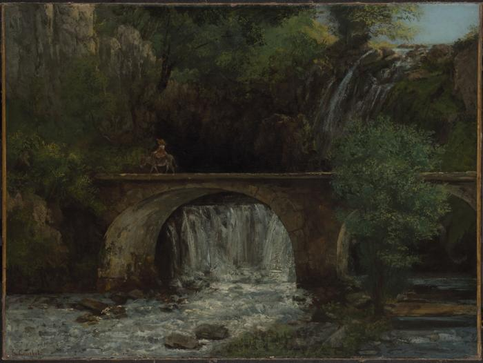 Gustave Courbet Le Grand Pont