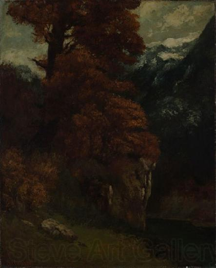 Gustave Courbet The Glen at Ornans