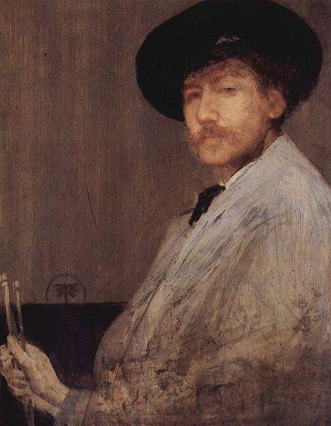 James Abbott McNeil Whistler Arrangement in Gray