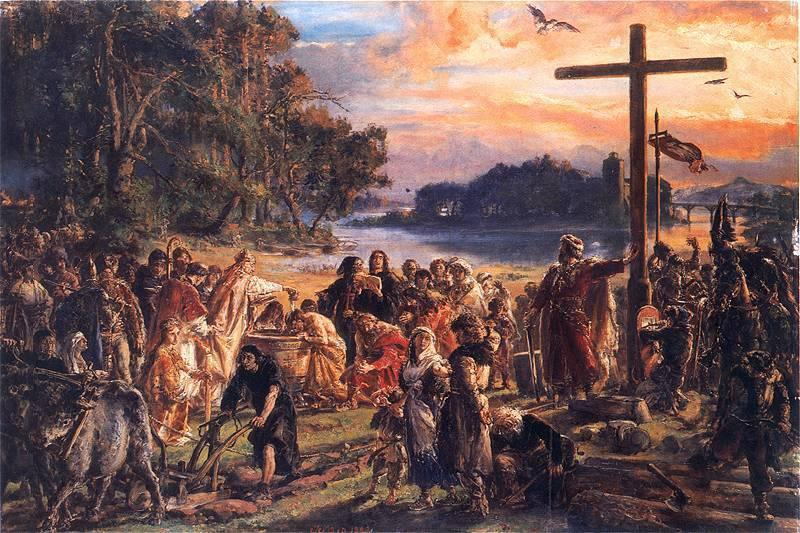 Jan Matejko Christianization of Poland A.D. 965.