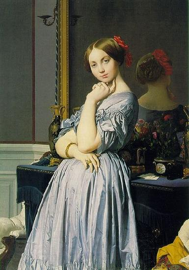 Jean-Auguste Dominique Ingres Louise de Broglie