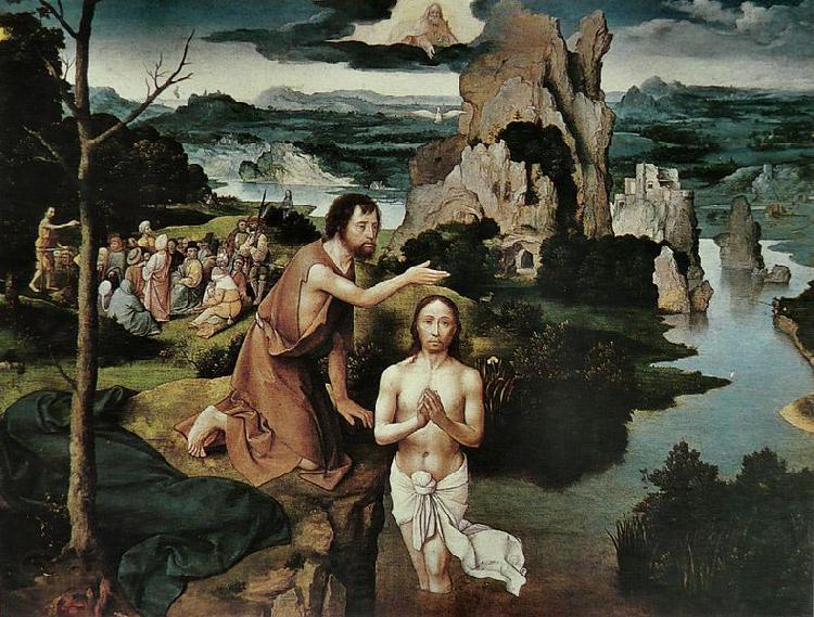 Joachim Patinir Baptism of Christ