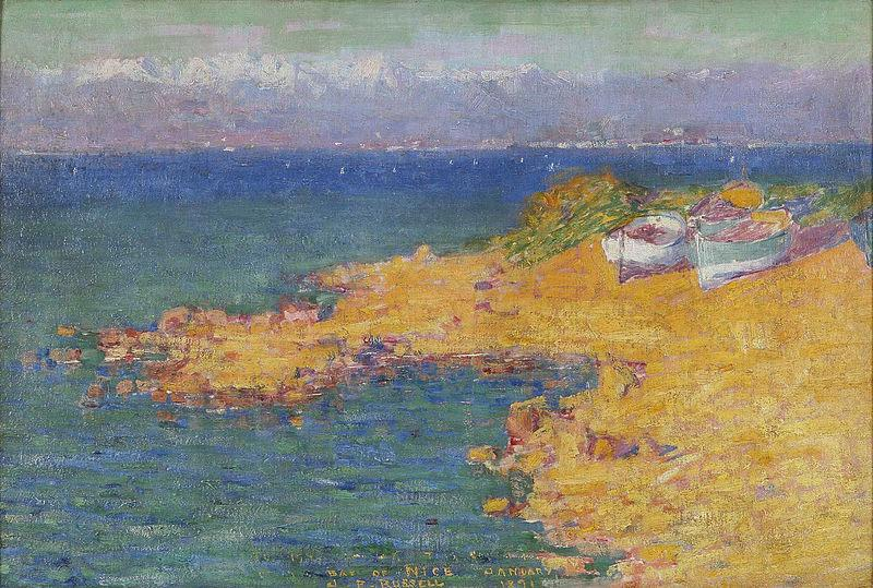 John Peter Russell Bay of Nice