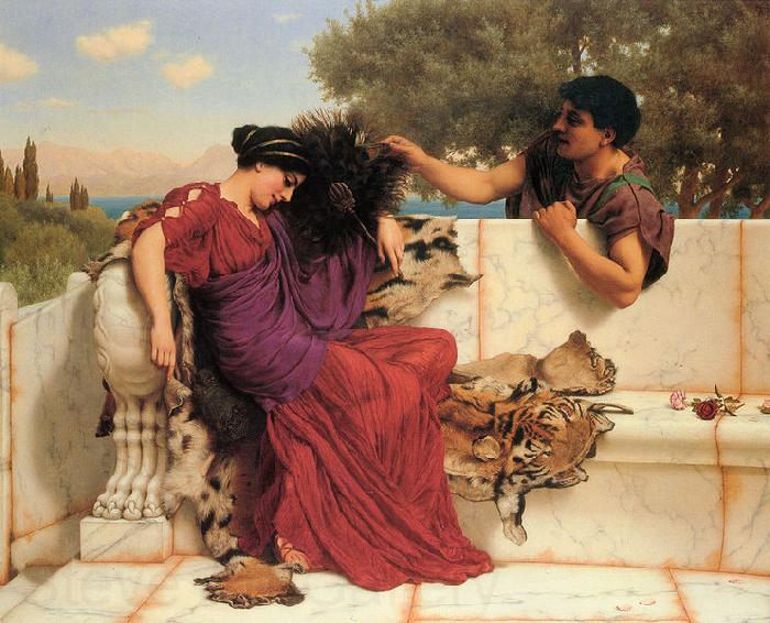 John William Godward Old Old Story