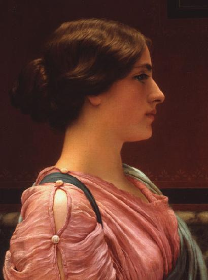 John William Godward A Classical Beauty