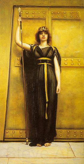 John William Godward Priestess
