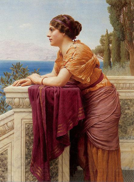 John William Godward Belvedere