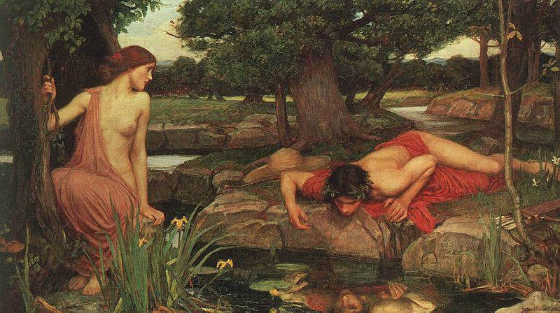 John William Waterhouse Echo and Narcissus.