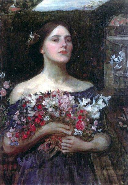 John William Waterhouse Gather Ye Rosebuds
