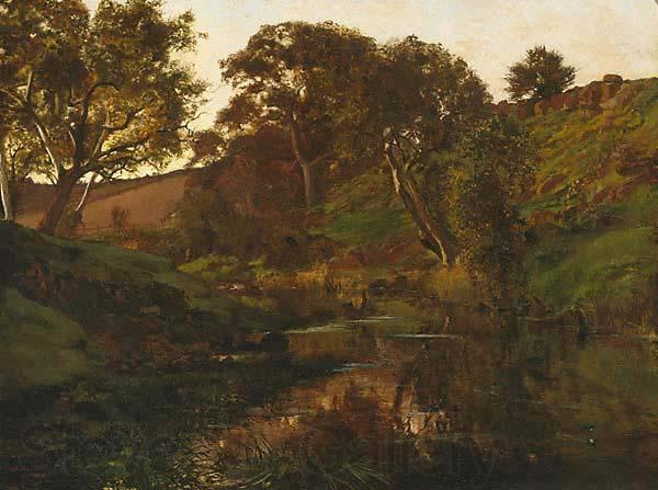 Julian Ashton Evening, Merri Creek