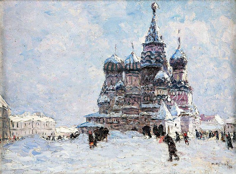 Nikolay Nikanorovich Dubovskoy Red Square