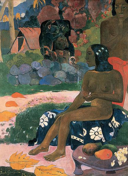 Paul Gauguin Her name is Varumati