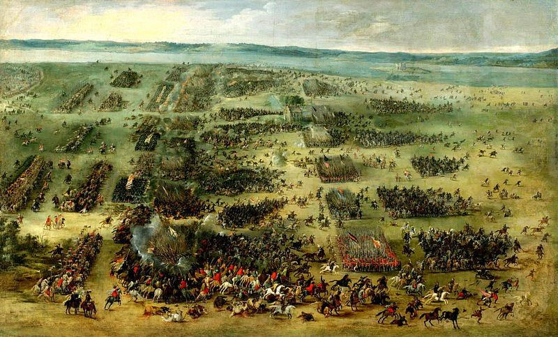 Peter Snayers Battle of Kircholm, 1605.