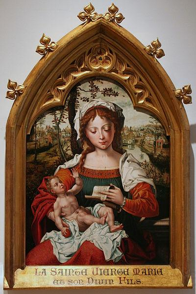 Pieter van Aelst Madonna witch Child